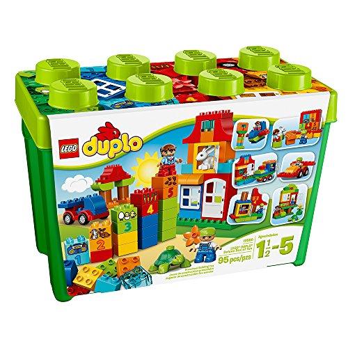 lego duplo deluxe box of fun 10580 preschool creative play toy - Allshopathome-Best Price Comparison Website,Compare Prices & Save