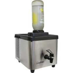 Vinotemp Shot Chiller – Silver, Medium Silver