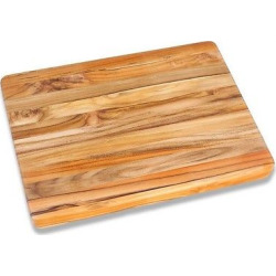 Teak Haus Edge Grain Cutting Board – 20, Wood