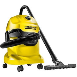 Wd4 Wet/Dry Vacuum – Yellow – Karcher