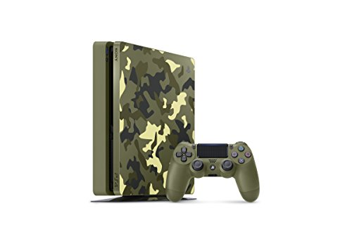 PlayStation 4 Slim 1TB Limited Edition Console – Call of Duty WWII Bundle [Discontinued]