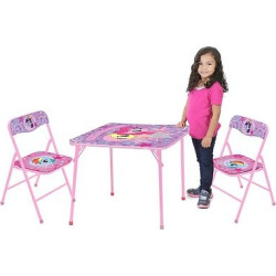 My Little Pony Table and Chair (Set of 3), Pale Purple
