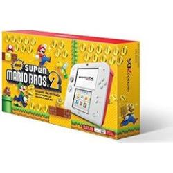 Nintendo 2DS Hardware – New Super Marion Bros. 2 Bundle: Scarlet Red