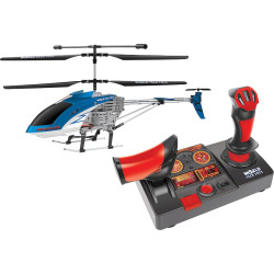 World Tech Toys Hercules Helipilot Electric Remote Control Helicopter, Blue