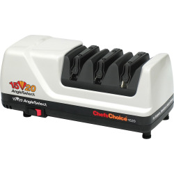 Chef'sChoice AngleSelect Electric Knife Sharpener, White