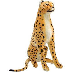 Melissa and Doug Cheetah Plush Toy, Multicolor