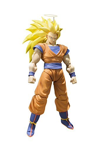 Bandai Tamashii Nations S.H. Figuarts Super Saiyan 3 Son Goku Dragon Ball Z Action Figure