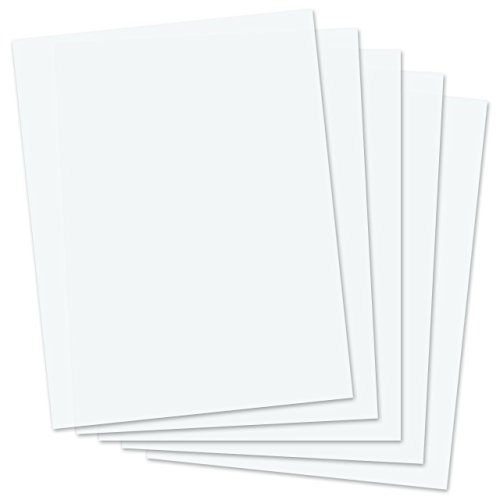 SmartSolve IT117138 8.5″ x 11″ Dissolving Paper (Pack of 25)