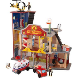 KidKraft Deluxe Fire Rescue Play Set, Multicolor