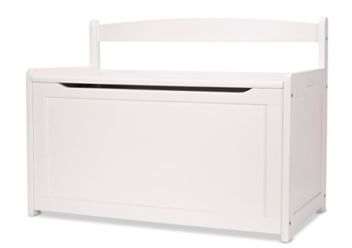 Melissa & Doug Toy Chest – White Children's Furniture
