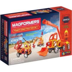 Magformers 47-pc. Power Construction Set, Multicolor