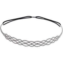 Crystal Allure Headband, Women's, White