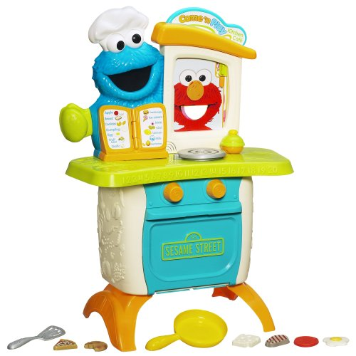 Playskool Sesame Street Come 'N Play Cookie Monster Kitchen Café Playset