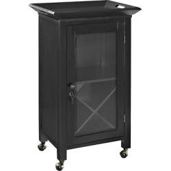 Jefferson Portable Bar – Black – Crosley