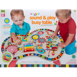 Alex Jr. Sound and Play Busy Table Activity Center, Multicolor