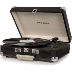 Crosley Cruiser Deluxe Portable Bluetooth Turntable, Multicolor