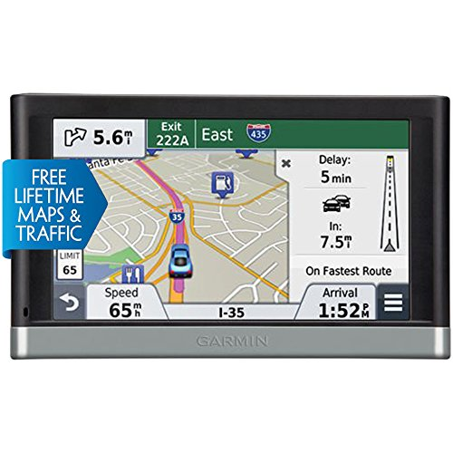Garmin Nuvi 2598LMTHD Advanced Series 5″ GPS Navigation System with Bluetooth (Certified Refurbished)