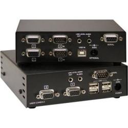 Rose Electronics CrystalView Plus Dual-Access Dual-Head Video USB KVM CRK-2U2V