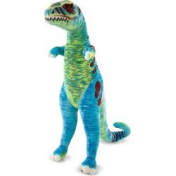 Melissa & Doug Giant T-Rex Dinosaur Plush, Multicolor