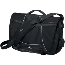 High Sierra Tank Laptop Bag, Black