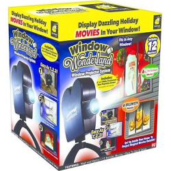 As Seen on TV Star Shower Led Window Wonderland Projector, Black