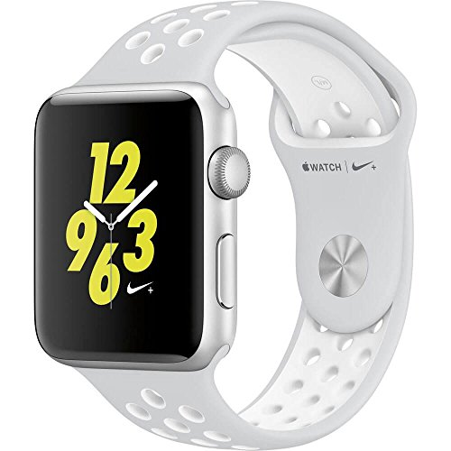 Apple Watch Nike+ 42mm Silver Aluminum Case Pure Platinum/White Nike Sport Band