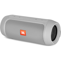JBL Charge 2+ Portable Bluetooth Speaker – Gray