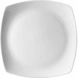 10 Strawberry Street Aurora Square 6-pc. Dinner Plate Set, White