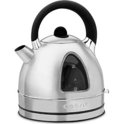 Cuisinart Cordless Stainless Steel Electric Kettle, Grey