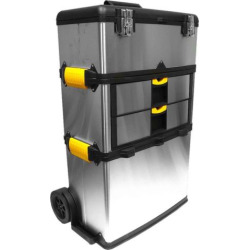 Trademark Tools 3-pc. Wheeled Toolbox Set, Multicolor
