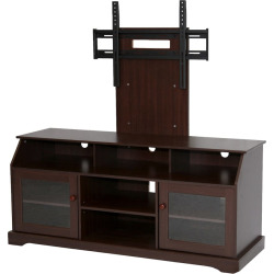TV Stand with Mount, Black