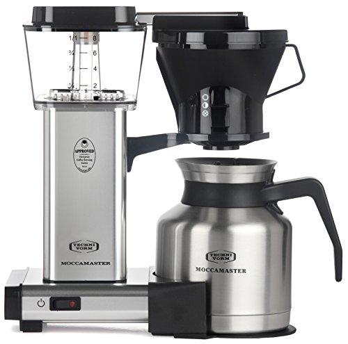 Technivorm Moccamaster 79212 Coffee Machine, 32 oz, Polished Silver