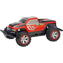 Carrera 1:18 Scale Fibre Monster Remote Control Vehicle, Red