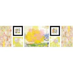 Spring Framed Wall Canvas Lemon Pie (52″x15″)