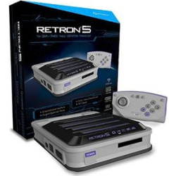 Hyperkin Retron 5 Retro Video Game System: Grey