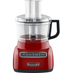 KitchenAid 7 Cup Food Processor – KFP0711, Empire Red