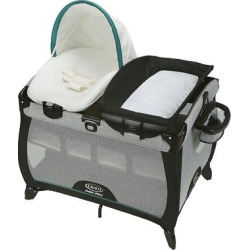 Graco Quick Connect with Portable Napper Playard – Darcie