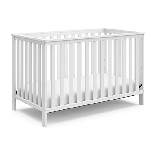 Storkcraft Rosland 3-in-1 Convertible Crib – White