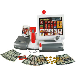 Theo Klein Electronic Cash Register, Multicolor