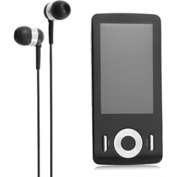 Coby Video / MP3 Player MP815 (16GB) – Black (Bulk)