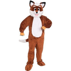 Adult Fox Costume, Adult Unisex, Blue