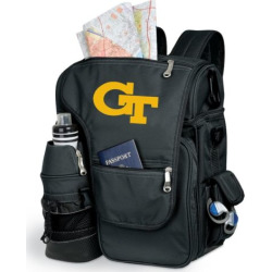 Georgia Tech Yellow Jackets Insulated Backpack, Black