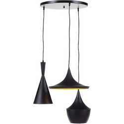 Jolanta Pendant Light Black/Gold Finish – Signature Design by Ashley