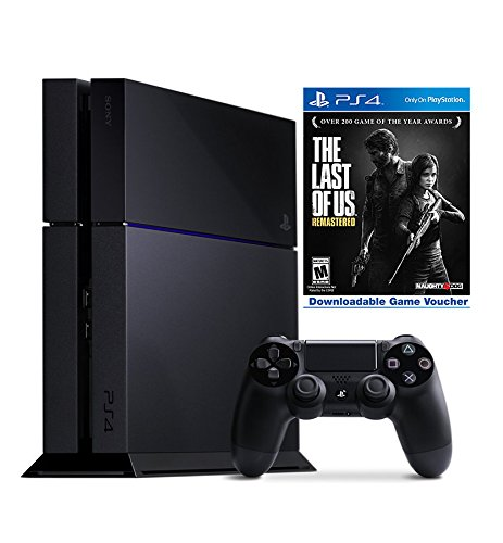 PlayStation 4 500GB Console – The Last of Us Remastered Bundle