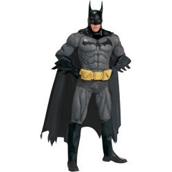 DC Comics Men's Batman Collector Costume – One Size Fits Most, Multi-Colored
