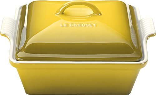 le creuset heritage stoneware 2 12 quart covered square casserole soleil - Allshopathome-Best Price Comparison Website,Compare Prices & Save
