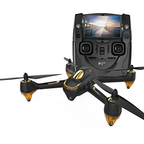 Hubsan H501S X4 BRUSHELESS FPV Quadcopter 1080p Camera GPS Automatic Return Altitude Hold Headless Mode Drone (black)