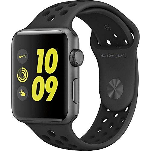 Apple Watch Series 2 Nike+ 38mm Space Gray Aluminum Case Anthracite/Black Nike Sport Band