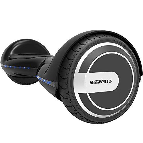 MegaWheels Hoverboard Self Balancing Scooter Hover Board Kids Adults UL Safety Certified LED Light & Speaker