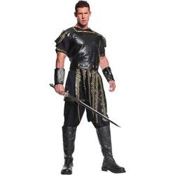 Men's Roman Warrior Costume – (Xxl), Black